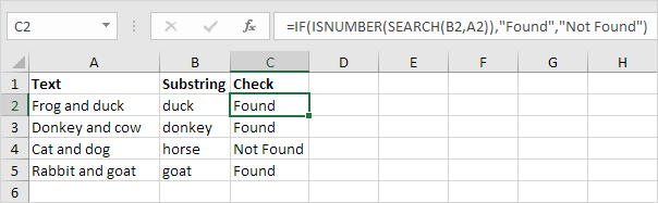 Check If a Cell Contains Specific Text